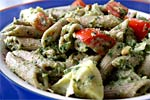 Thumbnail image for Artichoke Pesto Pasta Salad