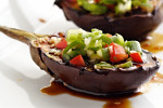 Grilled Baby Eggplant with Korean Barbecue Sauce