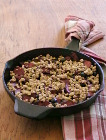 Apple-Berry Skillet Crumble