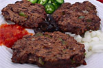 Thumbnail image for Hash Browns and Black Bean Burgers