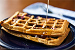 Thumbnail image for Fat-free Vanilla or Blueberry Waffles