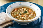 Thumbnail image for Chickpea Soup with Moghrabieh (Lebanese Couscous)