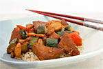 Thumbnail image for Chinese Barbecued Tofu and Vegetables