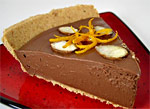 Chocolate-Orange Mousse Pie