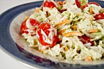 Thumbnail image for Creamy Herbed Coleslaw with Grape Tomatoes
