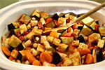 Thumbnail image for Crockpot Eggplant and Tomato Stew with Garbanzo Beans