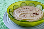 Cucumber Hummus Recipe