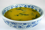 Thumbnail image for Curried Red Lentil Soup with Dandelion Greens