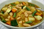 Thumbnail image for Garden Vegetable and Bean Soup