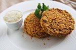 "Thumbnail image for Jackfruit ""Crab"" Cakes"