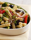 Whole Wheat Pasta with Roasted Vegetables and Olives from Nava Atlas