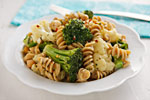 Thumbnail image for Pasta and Vegetables with White Sauce