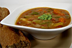Thumbnail image for Provençal Soupe au Pistou (Bean and Vegetable Soup with Pinenut Pesto)