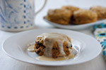 Fat-Free Pumpkin and Raisin Biscuits