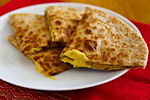 Thumbnail image for No-Queso Quesadillas