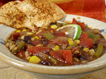 Thumbnail image for Chili with Baked Lime-Chipotle Tortilla Chips
