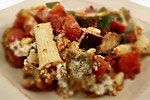 Thumbnail image for Rigatoni with Zucchini and Eggplant