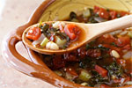 Thumbnail image for Rustic Red Kale and White Bean Soup