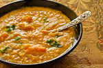 Thumbnail image for Yellow Split-Pea Soup with Sweet Potatoes and Kale
