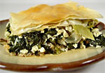 Thumbnail image for Spinach and Artichoke Pie