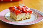 Strawberrry Snack Cake