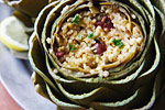 Thumbnail image for Millet-Stuffed Artichokes