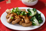 Sichuan Tofu and Garlic Sauce