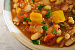 Thumbnail image for Tunisian Bean and Chickpea Stew