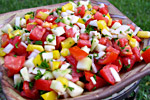 Thumbnail image for Ezme Salatasi (Turkish Tomato Salad)