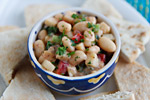 White Bean Salad with Zatar