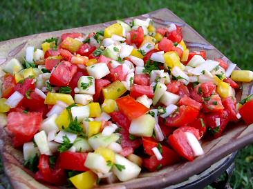 Middle Eastern-Style Tomato Salad