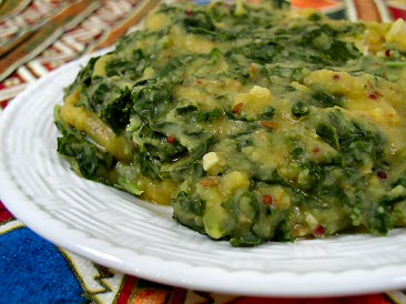 Kale and toor dal recipe from fatfree vegan kitchen kale and toor dal forumfinder Gallery