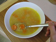 Bulgur-Carrot Soup