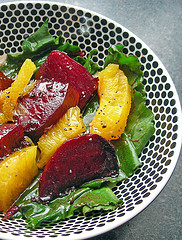 Roasted Beet & Citrus Salad with Poppy Seed Dressing