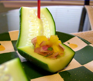 You Float My Boat Cucumber Boats