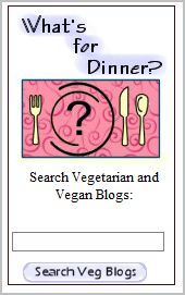 Veg Blog Search Widget