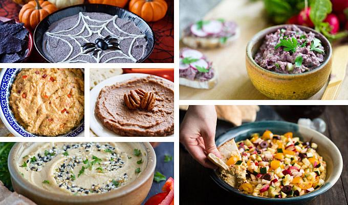 Low-fat vegan hummus recipes