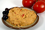 Thumbnail image for Spicy Red Pepper Hummus and a Movie