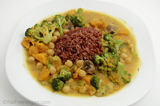 Thai-Style Vegetable Curry