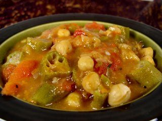 Chickpea Gumbo Now Playing at a Blog Near You…