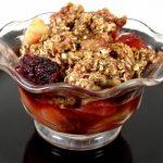 Valentine's Dessert #1: Fruit Medley Cobbler