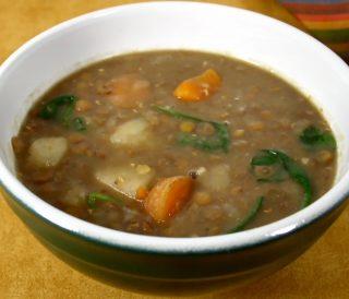 Rainy Day Lentil Soup