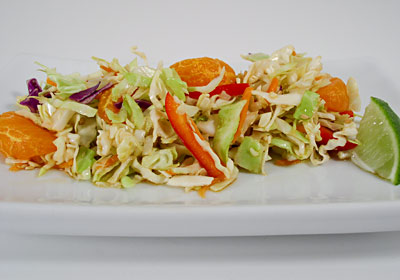 Sesame-Orange Coleslaw