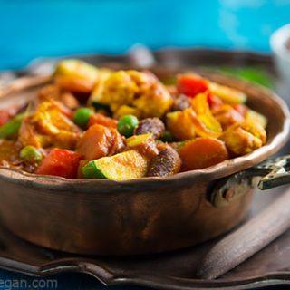 Vindaloo Vegetables