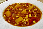 Thumbnail image for Winter Squash Stew with Pinto Beans and Corn