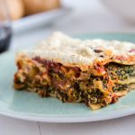 Easy Vegan Spinach and Mushroom Lasagna--My Favorite Lasagna