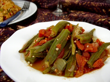 Stewed Okra and Tomatoes