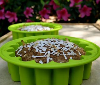 Sugar-Free Coconut Chai Breakfast Cake