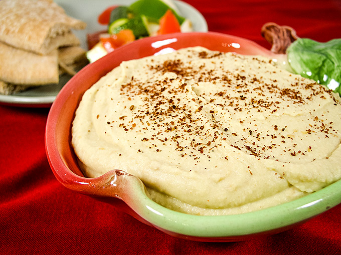 Almost Instant Hummus Ghanoush