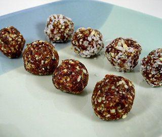 Cherry Date-Nut Balls